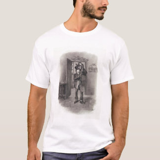 Bob Cratchit and Tiny Tim, from 'Charles Dickens: T-Shirt