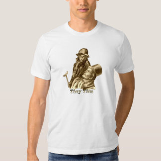 Bob Cratchit and Tiny Tim in A Christmas Carol T-shirt