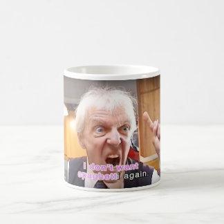 Bob Druwing I Don't Want Spaghetti Again Mug