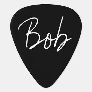 """""""Bob"""" Guitar Pick"""