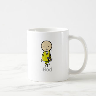 Bob Here Come Bod iBod IPod Coffee Mug
