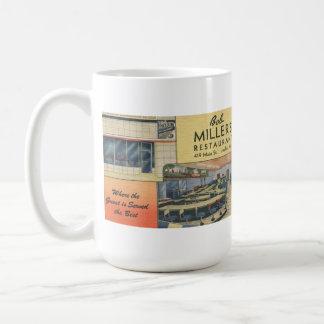 Bob Miller's Restaurant  Route 66 Postcard Mug