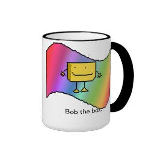 Bob The Box. Ringer Mug