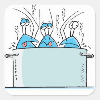 Bob The Crayfish Sticker