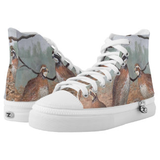 Bob-White Quail High-Top Sneakers