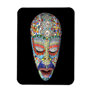 Bob, Why the Long Face? Mosaic Mask Rectangular Photo Magnet