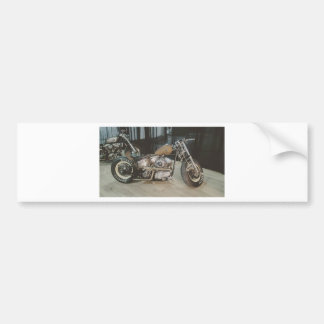 bobber bike bumper sticker