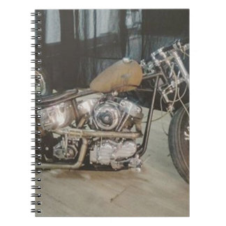 bobber bike notebooks