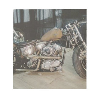 bobber bike notepad