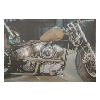 bobber bike placemat