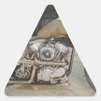 bobber bike triangle sticker