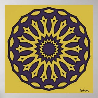 Bobbin lace from Idrija Poster