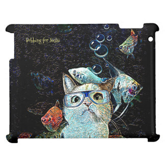 Bobbing for Sushi Case Savvy Glossy iPad Case
