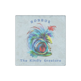 Bobbus the Kindly Creature Stone Magnet