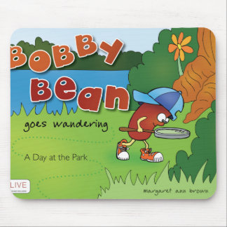 Bobby Bean Book Cover Mouse Pad