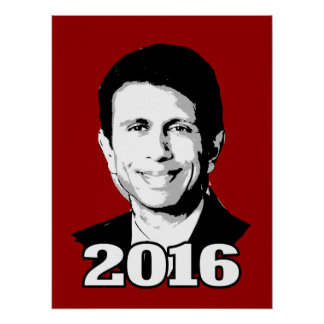 BOBBY JINDAL 2016 CANDIDATE POSTER