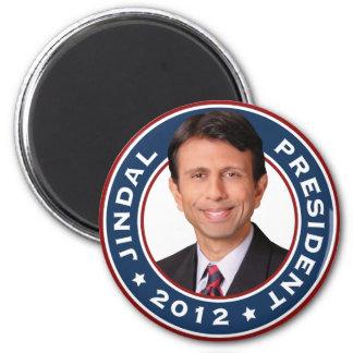 Bobby Jindal for President 2012 6 Cm Round Magnet