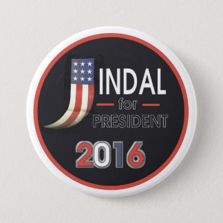 Bobby Jindal for President 2016 7.5 Cm Round Badge