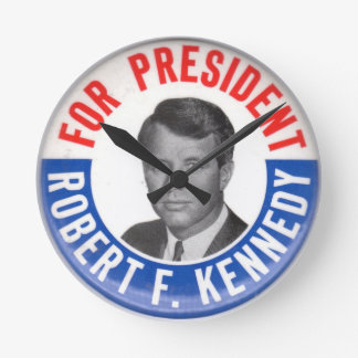 Bobby Kennedy wall clock