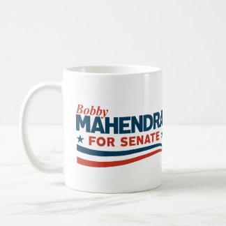 Bobby Mahendra for Senate Coffee Mug