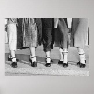 Bobby Socks, 1953 Poster