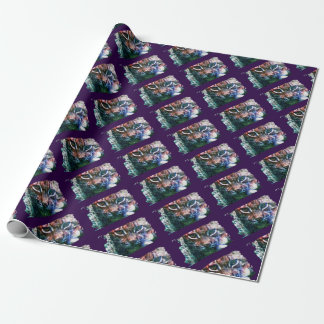 BOBCAT - Digitally Artwork Jean Louis Glineur Wrapping Paper