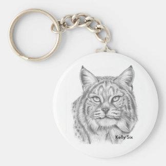 Bobcat Key Ring