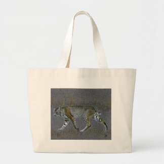 Bobcat Large Tote Bag