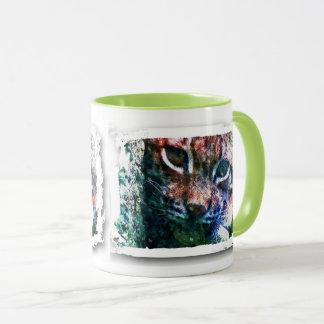 BOBCAT - LYNX - LYNX - digital Artwork Mug