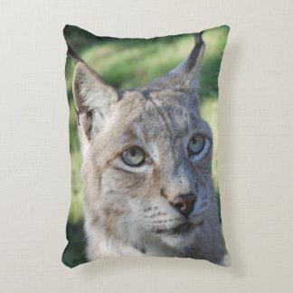 BOBCAT ~ lynx ~ Lynx ~ photo: Jean Louis Glineur Decorative Cushion