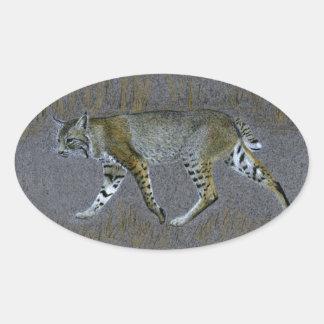 Bobcat Oval Sticker