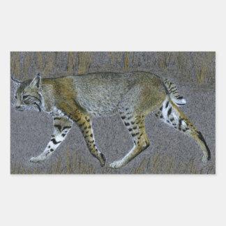 Bobcat Rectangular Sticker