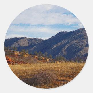 Bobcat Ridge Classic Round Sticker