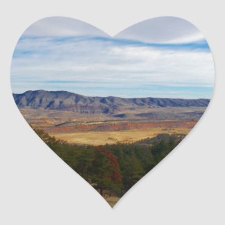 Bobcat Ridge Colorado Heart Sticker