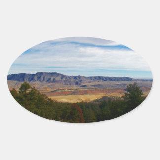 Bobcat Ridge Colorado Oval Sticker