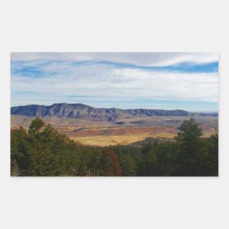 Bobcat Ridge Colorado Rectangular Sticker