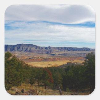 Bobcat Ridge Colorado Square Sticker