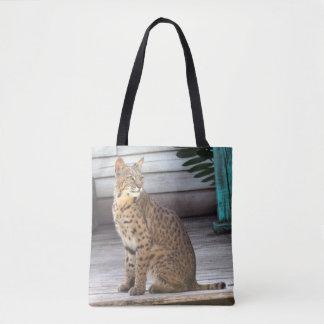 Bobcat Tote Bag