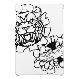 Bobcat Wildcat Esports Gamer Mascot iPad Mini Cover