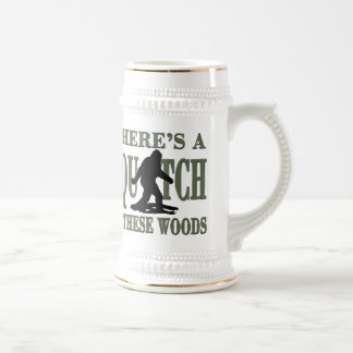 Bobo - There's a SQUATCH in these Woods 18 Oz Beer Stein