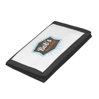 Bob's Your Uncle Funny Man Named Bob Joke Trifold Wallets
