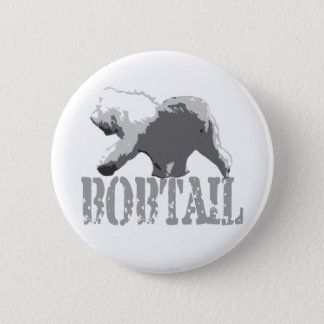 Bobtail 6 Cm Round Badge