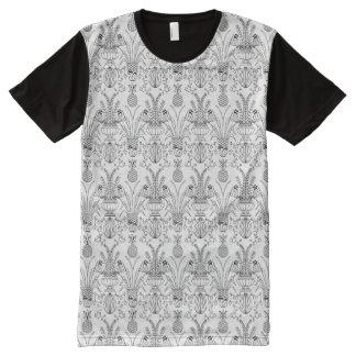 Bobwhite Damask Shirt All-Over Print T-Shirt