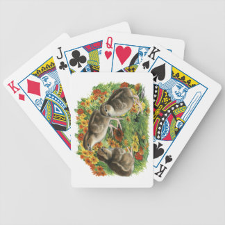 Bobwhite Garden Chicks Bicycle Playing Cards