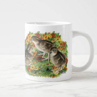 Bobwhite Garden Chicks Large Coffee Mug
