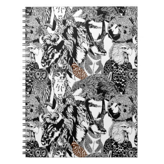Bobwhite Stand-out Notebook