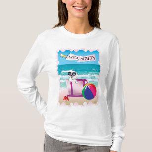 Boca Bichon: Women's Sleeved T-Shirt