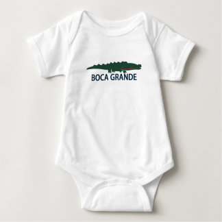 Boca Grande - Alligator. Baby Bodysuit