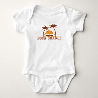 Boca Grande - Palm Trees. Baby Bodysuit