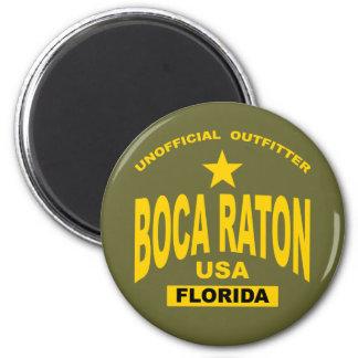 Boca Raton 6 Cm Round Magnet